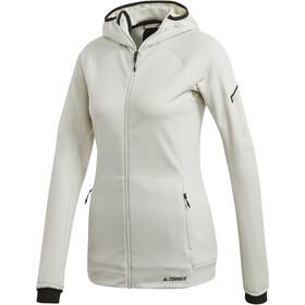 adidas TERREX Stockhorn Chaqueta con capucha Mujer, raw white